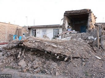 Мощное землетрясение в Иране: свыше 250 погибших