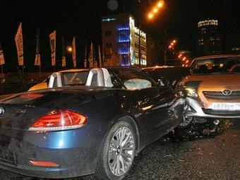 Крестник Киркорова на спорткаре BMW устроил ДТП в центре Москвы