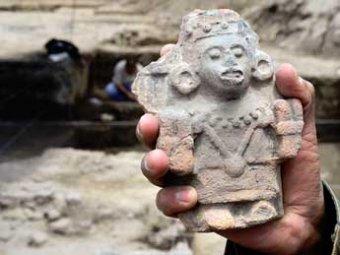 В Мехико найдена женщина, принесенная ацтеками в жертву сразу после родов