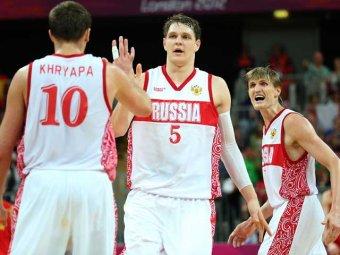 Российские баскетболисты впервые в истории пробились в полуфинал Олимпиады