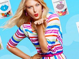 Шарапова запустила собственный конфетный бренд