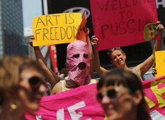 1 октября объявлен Днем всемирной защиты Pussy Riot