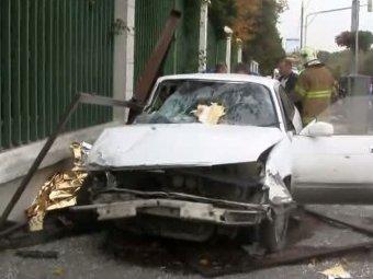 Пьяный лихач снес автобусную остановку в Москве: 7 погибших