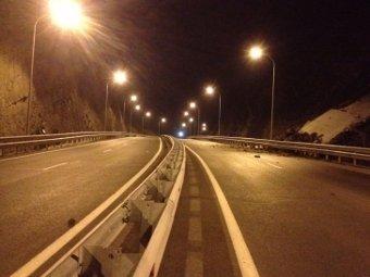 В Приморье снова обвалилась дорога, ведущая к саммиту АТЭС