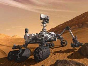 """Марсоход Curiosity испытал свою двухметровую """"руку"""""""