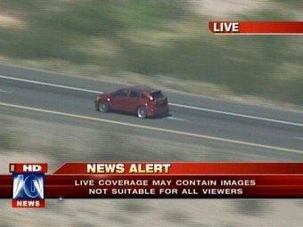 В США автоугонщик застрелился в прямом эфире канала FoxNews