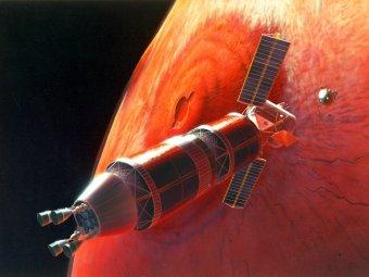 """Первые астронавты отправятся на Марс на корабле """"Орион"""""""
