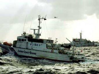Японцы устроили морской бой с тайванцами за спорные острова