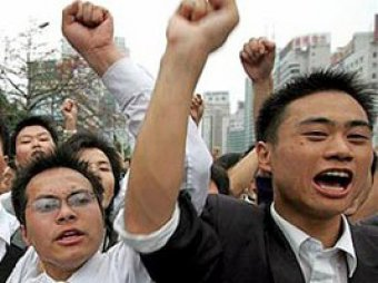 В Китае бушуют антияпонские погромы