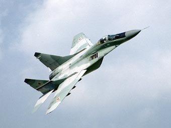 МиГ-29 врезался в скалу под Читой