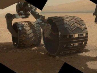 "Curiosity прислал на Землю ""привет от марсиан"""