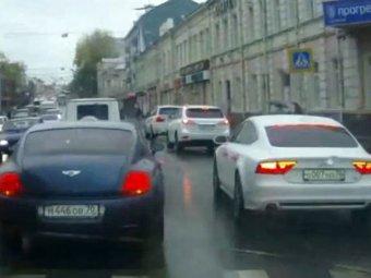 В Томске еще один кавказский свадебный кортеж устроил переполох