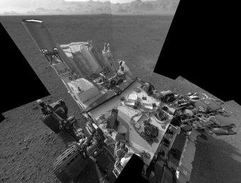 Curiosity снова подкинул загадку: нашел на Марсе кусок полиэтилена