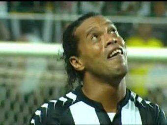 Роналдиньо разрыдался после забитого великолепного гола