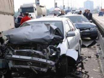 ГИБДД назвала самый аварийный округ Москвы