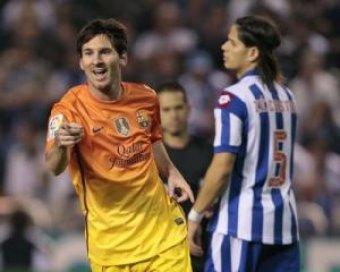 """""""Барселона"""" пропустила 4 мяча и выиграла, а Месси побил рекорд Роналду"""