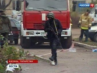 В Казани при захвате возможных террористов убит сотрудник ФСБ