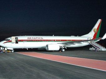 СМИ: Новый самолёт Лукашенко украшен золотом и бриллиантами
