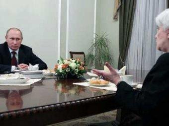 Путин обещал вдове Солженицына увеличить часы на литературу в школах