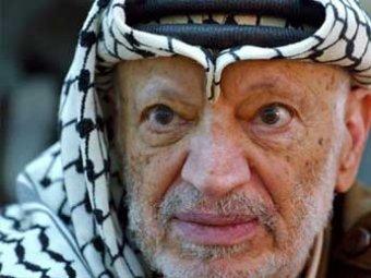 В Рамалле из мавзолея извлекли останки Ясира Арафата