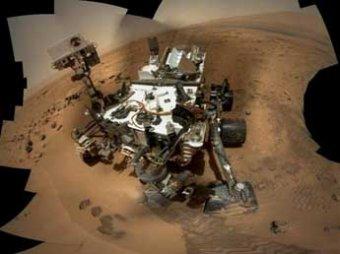 Марсоход Curiosity прислал на Землю автопортрет, сделанный … со стороны