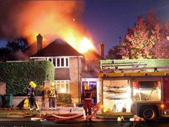 В Лондоне сгорел дом российского миллиардера
