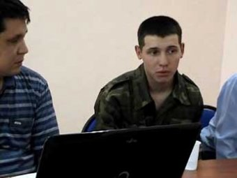 Пограничник Челах на видео сознался в убийстве сослуживцев