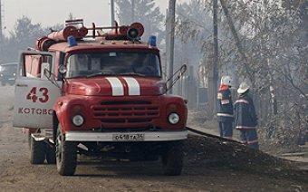 В Нижегородской области сгорели трое маленьких детей