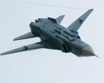 В Ростовской области при посадке сгорел бомбардировщик Су-24
