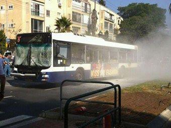 В Израиле взорвали автобус с пассажирами