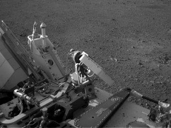 """Марсоход Curiosity впервые """"принюхался"""" к марсианской атмосфере"""