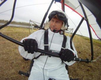 СМИ: полет со стерхами подорвал здоровье Путина