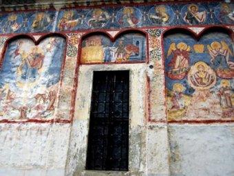 В Румынии нашли фрески XVIII века со сценами апокалипсиса 21.12.12
