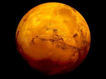 """На Марсе обнаружен """"горнолыжный курорт"""""""