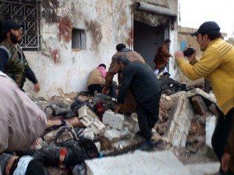 В Сирии в результате авианалёта на пекарню погибли 300 человек