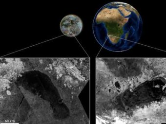 NASA: на поверхности Титана течет метановый Нил