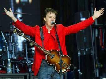 Пол Маккартни споёт в группе Nirvana