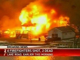 Очередной случай массового расстрела в США: преступник расстрелял спасателей