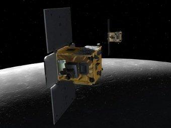 NASA разбило два исследовательских зонда о поверхность Луны