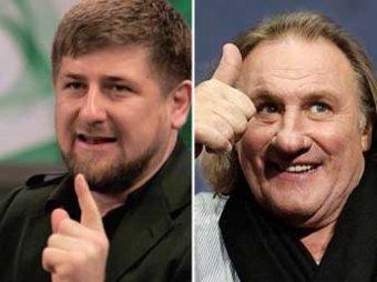 Кадыров предложил Депардье поселиться в Чечне