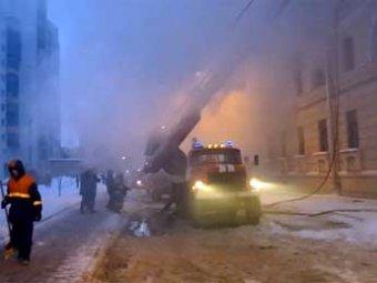 В Петербурге сгорело общежитие: 4 человека погибли и 6 ранены