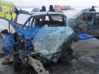 Страшное ДТП на трассе Тюмень-Омск: пятеро погибших