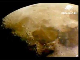 """Интернет-пользователи разглядели на Луне """"мечущиеся"""" НЛО"""