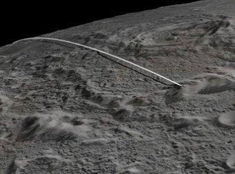 На предсмертном видео лунного зонда NASA найдено нечто