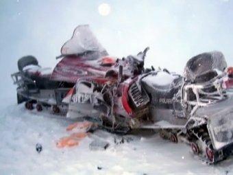 СМИ: Водитель разбившегося в Альпах снегохода был пьян
