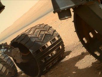 "Марсоход Curiosity заснял загадочный ""марсианский цветок"""