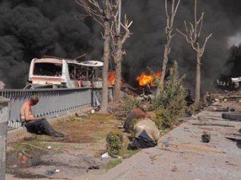Взрыв Дамаске возле российского посольства: десятки жертв