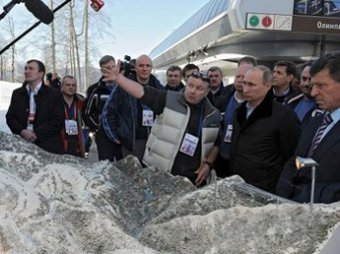 "Путин устроил ""разбор полетов"" на олимпийских стройках"