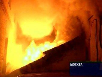 В Москве в здании ГИТИС произошел пожар