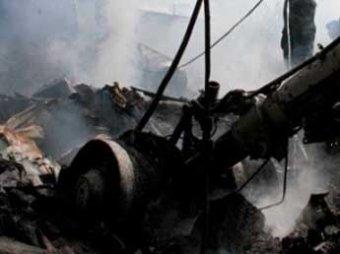 В Конго разбился вертолет с четырьмя россиянами на борту